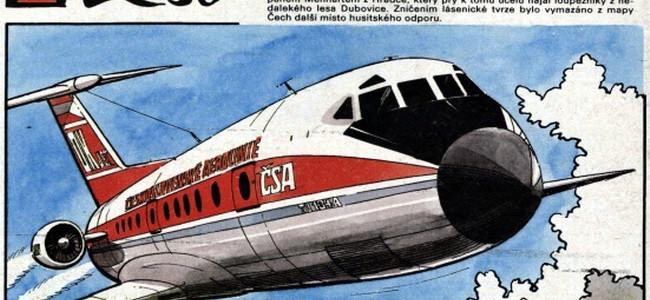 Komiksy o cestování v čase: Tvrz