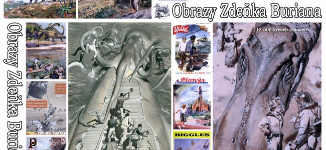 Geniální triky malíře Zdeňka Buriana (4)
