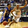 Basketbalový koš hozený ze 127 metrů
