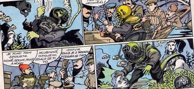 Komiks: Slavné vraky