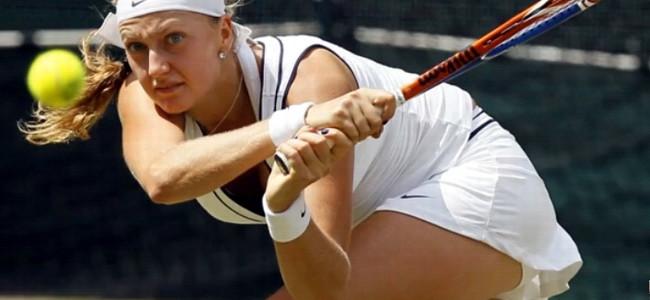 Nahá tenistka Petra Kvitová