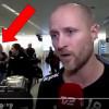 Video: Žena zmizela v přímém přenosu na letišti v Kodani