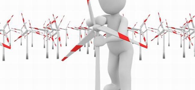 Jak se staví větrná elektrárna