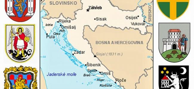 Zajímavé znaky chorvatských měst