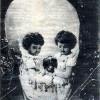 Optický klam: Děti, psík a… lidská lebka