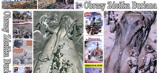 Začíná výstava: Zdeněk Burian a jeho svět / Dobrodružné sny