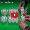 Optický klam: Vidíte kruhy nebo čtverce?
