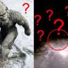 Sněžný muž? V Rusku prý přeběhl před autem