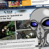 Na Google Earth je prý vidět rvačka muže s mimozemšťanem