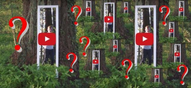 Muž natočil v lese v americkém Oregonu BRÁNU DO JINÉHO SVĚTA (?)