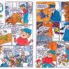 POLDA A OLDA NOCUJÍ NA HRADĚ (komiks z časopisu Čtyřlístek)