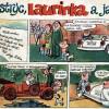 Komiks: STRÝC, LAURINKA A JÁ