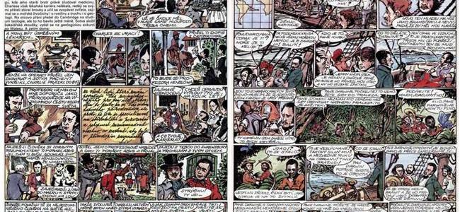 CESTA KOLEM SVĚTA: komiks z časopisu ABC z let 1986 – 1987