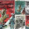 TAJEMSTVÍ ZLATÉHO KONĚ: speleo komiks Káji Saudka