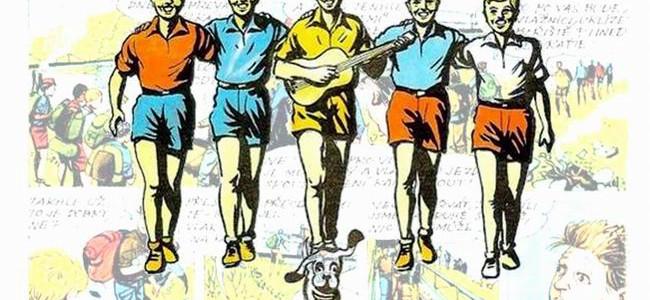 RYCHLÉ ŠÍPY: doposud nepublikovaný komiks Jaroslava Foglara