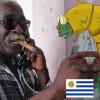 UFO VE TVARU DOUTNÍKU A V NĚM ŽIVÝ MIMOZEMŠŤAN: viděli ho v Uruguayi