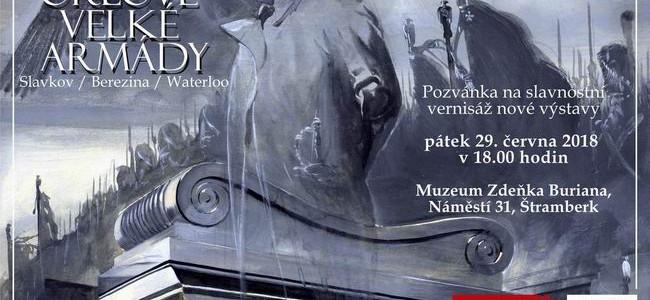 ZDENĚK BURIAN a Orlové velké armády: nová výstava ve Štramberku
