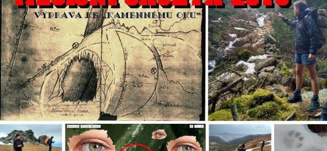 """Expedice MĚSÍČNÍ ŠACHTA 2019: Výprava ke """"kamennému oku"""""""