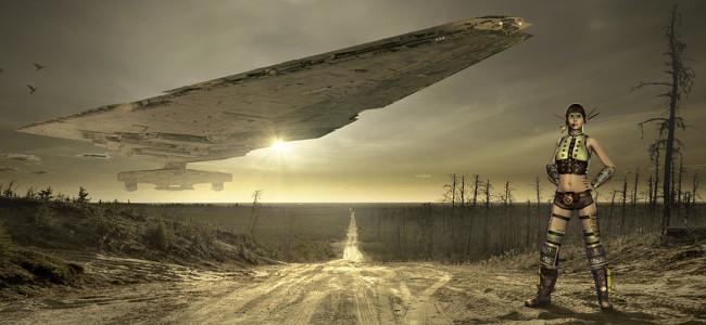 Ovlivňuje Měsíc havárie UFO?