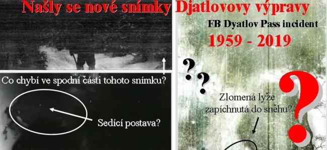 TRAGÉDIE DJATLOVOVY EXPEDICE: po 60ti letech se objevily nové snímky