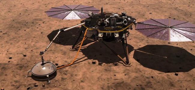 Co je nového na Marsu? (InSight, červen 2019)