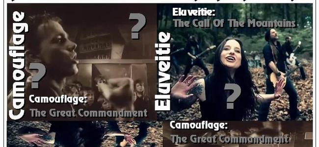 Písničky, které znějí stejně: CAMOUFLAGE a ELUVEITIE