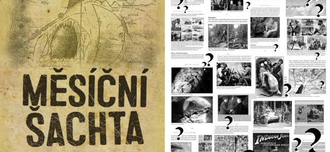 MĚSÍČNÍ ŠACHTA: vyšla kniha o největší středoevropské záhadě