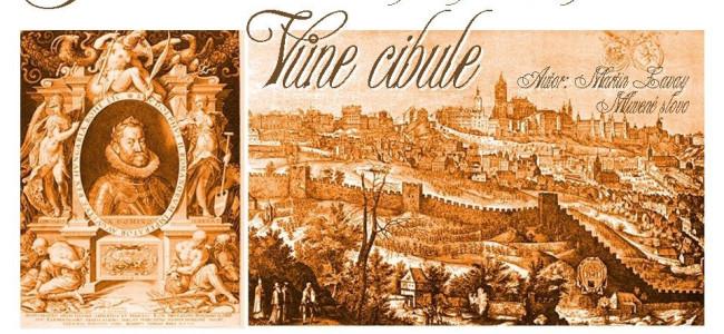 VŮNĚ CIBULE – povídka o cestování v čase z doby Rudolfa II.