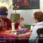 Skrytá kamera: Šaman s hořící hlavou