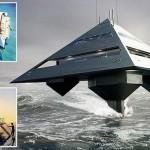 Tetrahedron – Britové staví superjachtu ve tvaru pyramidy