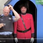 Skrytá kamera: Nahatá hradní stráž