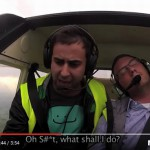 Skrytá kamera: Kolaps pilota letadla