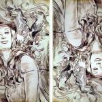 Líza, liščí víla (2015) a optický klam
