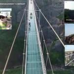 Troufnete si přejít po nejdelším skleněném mostě?