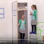 Skrytá kamera: Namalované dveře jsou skutečné!