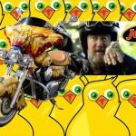 Legendární reklamy: Slepičí muž, rozbitá ruční brzda, zákeřný motorkář a čokotyčinka JAPP