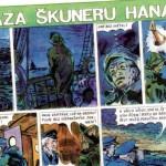Komiks: Zkáza škuneru Hanah