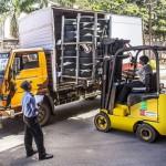 Děs, běs, katastrofy: Havárie vysokozdvižných vozíků