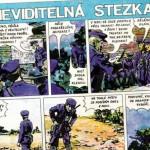 Komiks: Neviditelná stezka