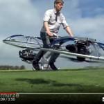 Brit si postavil DRON-MOTORKU