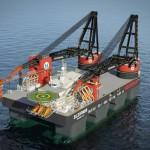 Největší lodní jeřáby na světě se vyrábějí v České republice