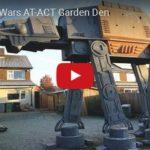 Fanoušek si postavil kráčející tank AT-AT ze Star Wars