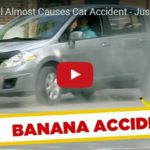 Skrytá kamera: PŘÍPAD BANÁN, může na něm dostat auto smyk?