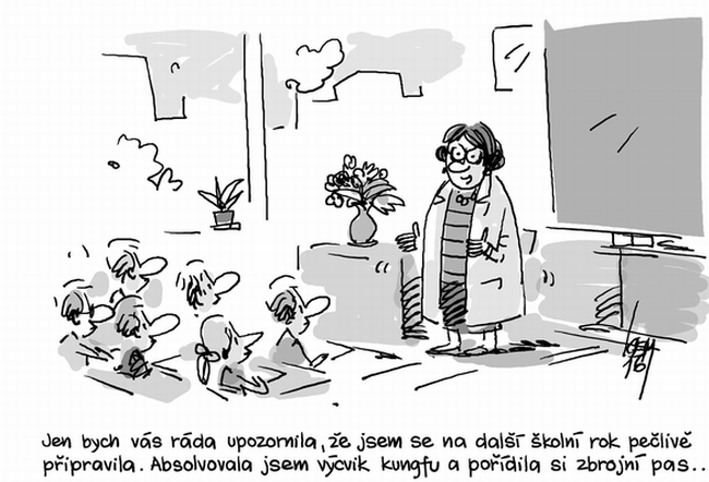 Miroslav Kemel Kresli Vtip Pro Dnesni Den Zahady Info