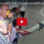 BOJÍTE SE LÉTANÍ? TOP 5 Co jste nevěděli o dopravních letadlech