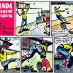 ZÁHADA MOSAZNÉ SPONY (komiks)