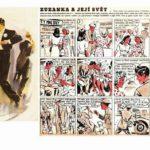 ZUZANKA A JEJÍ SVĚT – unikátní komiks z roku 1947