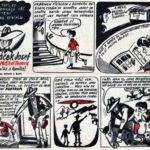 NOVÁČEK JOSEF ZVANÝ MSTITEL TEXASU: komiks z časopisu ABC z roku 1959