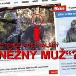 TEMNÁ SILUETA NA MÍSTĚ MASAKRU: vyfotili v Austrálii legendárního YOWIEHO?