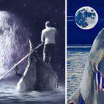 Jak vznikla měsíční moře (Zajímavá věda)